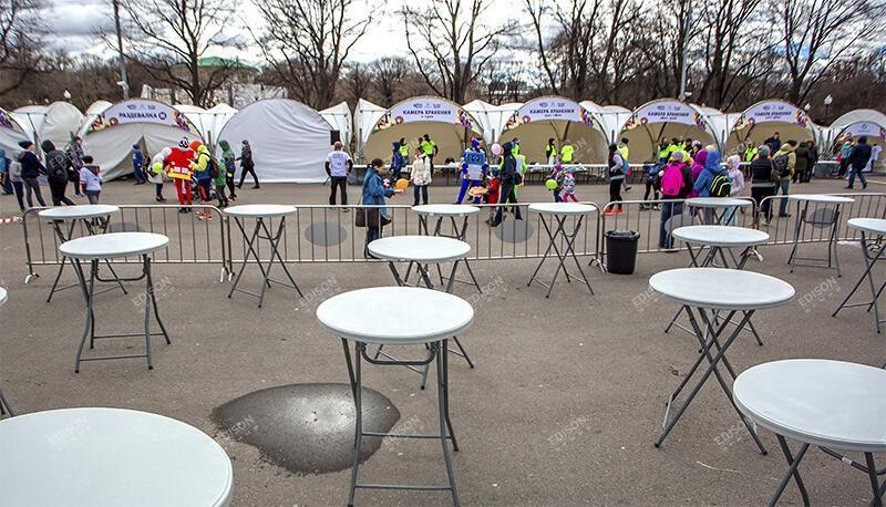 """Благотворительный забег 5275 """"Линия жизни"""" в парке им. Горького"""