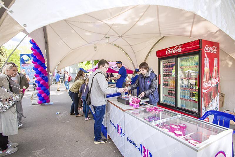 День мороженого в парке Сокольники