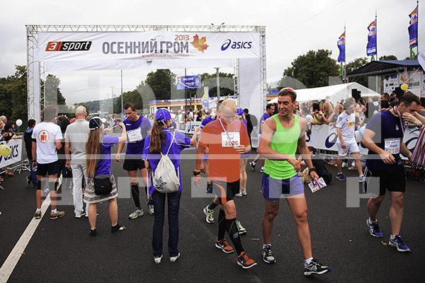 Московский марафон «Осенний гром»: 4 августа 2013