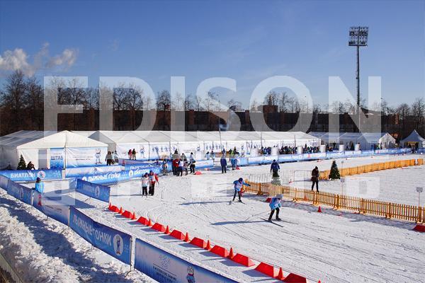Московские Зимние Дворовые Игры в Лужниках: 24 февраля 2013