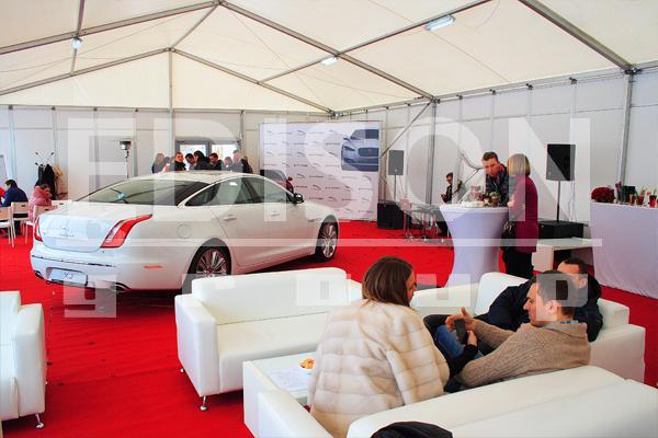 Тест-драйв автомобилей Jaguar на автодроме в Тушино: 1-3 марта 2013