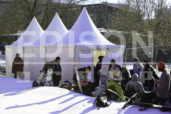Международные Игры экстремального спорта «Адреналин геймс / Москоу опен 2013 зима» в Парке Горького