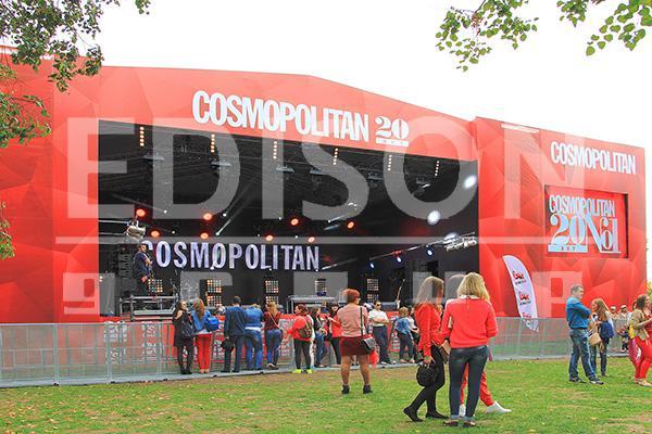 «Cosmopolitan-20 лет»: 13 сентября 2014