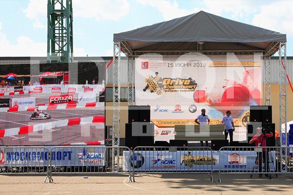 Праздник скорости X-drive Studentsport в Лужниках: 15 июня 2013