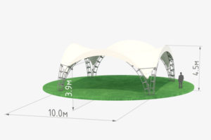 Арочный шатер 10