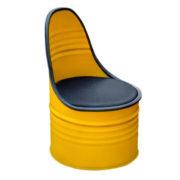 Кресло из бочки