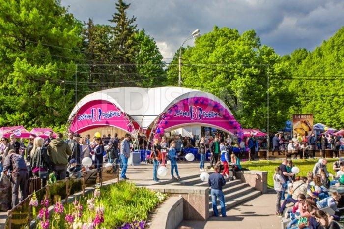 Аренда шатров для мероприятия «День мороженого» - фото