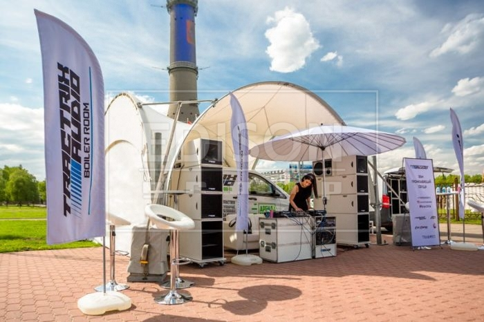 Арочный шатер на выставке EVENT revolution в Останкино - фото