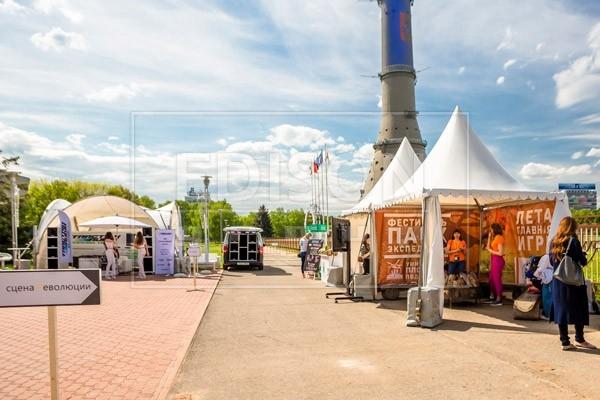 Шатры Пагода на выставке EVENT revolution — фото