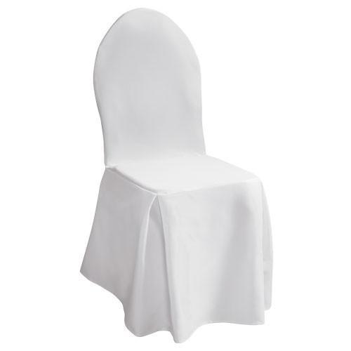 чехол на стул белый