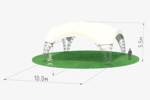 Арочный шатер High Peak 10