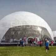 Аренда шатра Сфера диаметром 26 метров