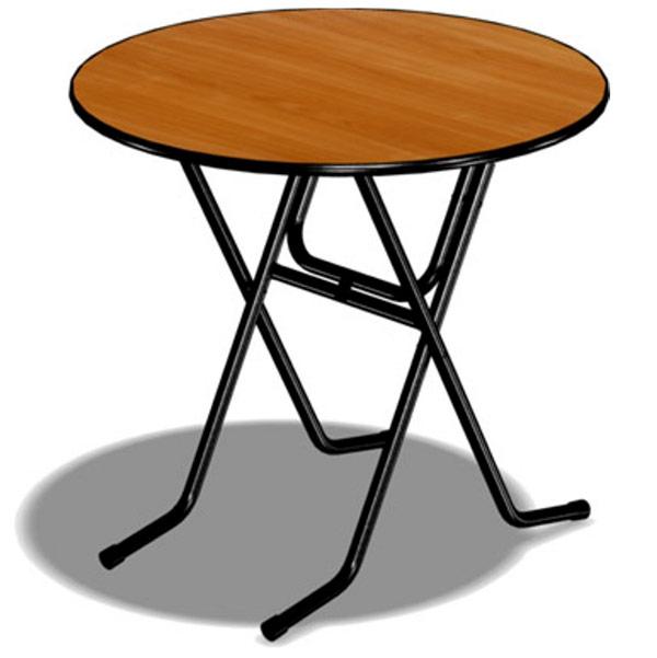 Круглый стол d=90см
