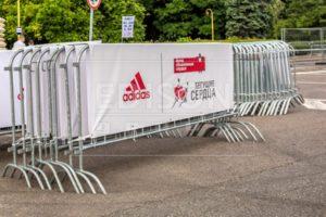 Мобильные ограждения - фан-барьеры