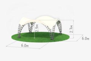 схема Арочного шатра 6