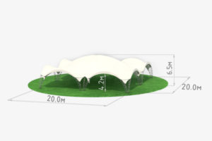 Арочный павильон схема