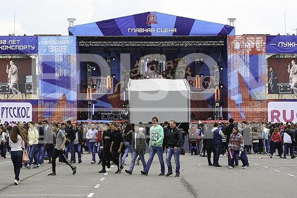 Концертная программа в Лужниках в честь Дня Города: 7 сентября 2013