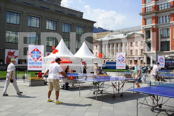 Чемпионат по настольному теннису: 13 июля 2013