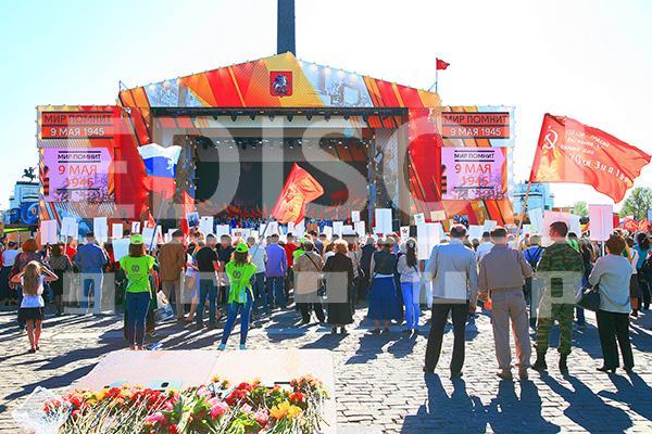 """Концерт на Поклонной горе """"Мир помнит"""": 9 мая 2014"""