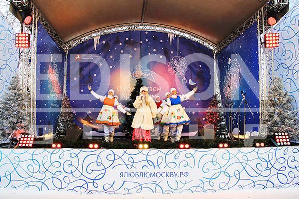 Рождество у Большого Новодевичьего пруда: 7 января 2015