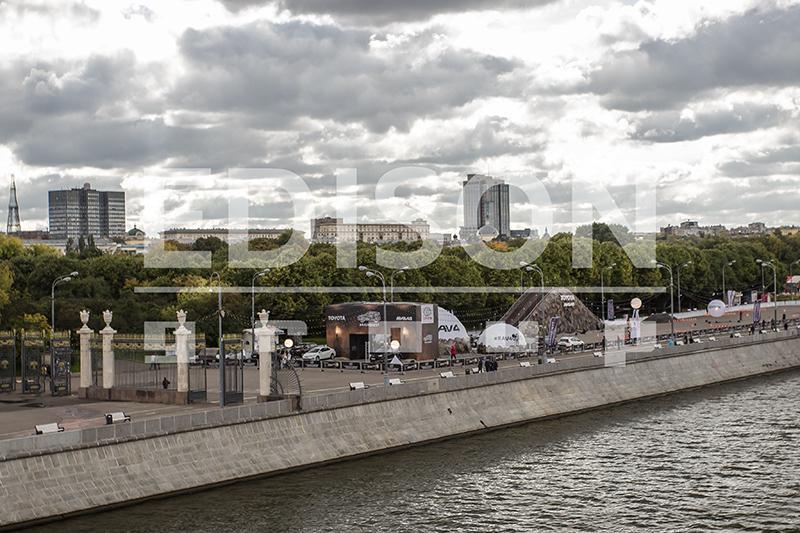 Тест-драйв Toyota - #RAV4QUEST в парке им.Горького: 22 сентября - 2 октября 2016
