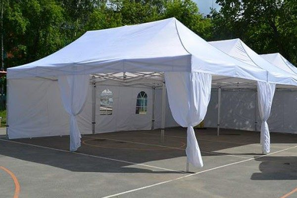 Мобильный шатер-трансформер 8х4