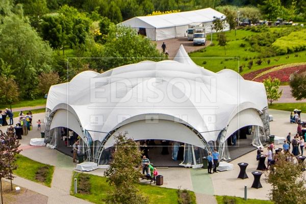 Арочный шатер Октогональ 6