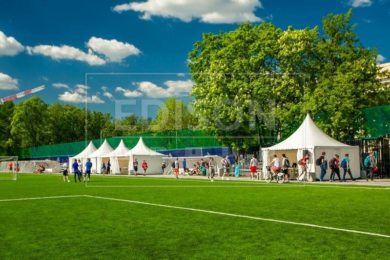 EDISON group 12 мая на всероссийском фестивале «Россия любит футбол!»