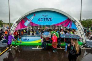 Арочные шатры от EDISON group на Москвовском Полумарафоне - 2018