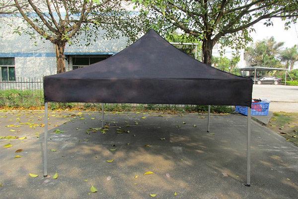 аренда мобильного шатра трансформера 4х4 м черного