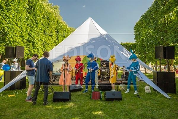 Комплексное техническое обеспечение мероприятий от EDISON group на Фестивале Усадьба Jazz в Архангельском