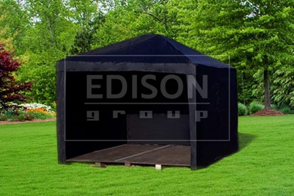 Мобильный шатер-трансформер 3х3 черный