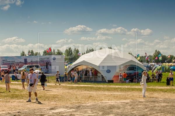 Аренда шатров на рок-фестивале Нашествие-2018