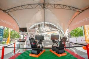 Шатры от EDISON group на Крупнейшем Фестивале дронов в Лужниках