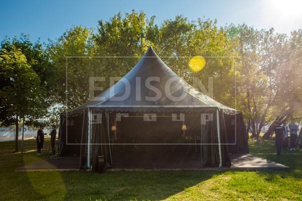 Брендированные шатры от EDISON group на Фестивале Booking Machine Festival в Коломенском 9