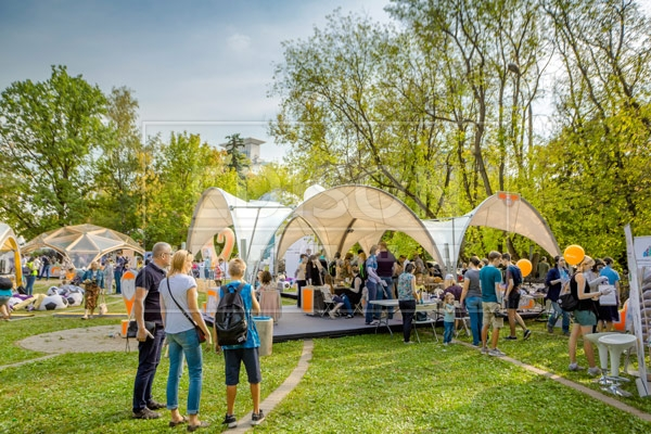 Фестиваль Душевная Москва в парке Сокольники