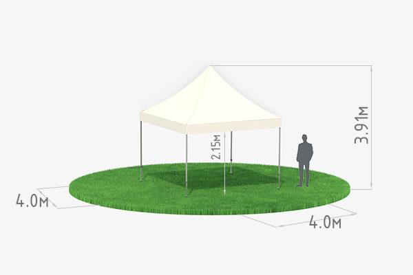 Мобильный шатер-трансформер 4х4 схема