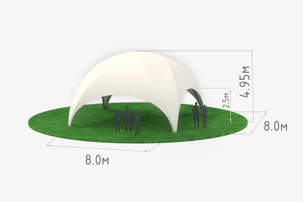 шатер Лаундж 8 схема