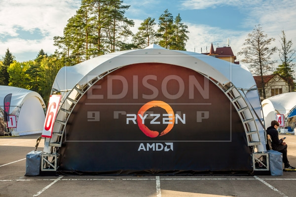 арочные шатры на конференцию